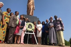 Emancipation Wreath-Laying