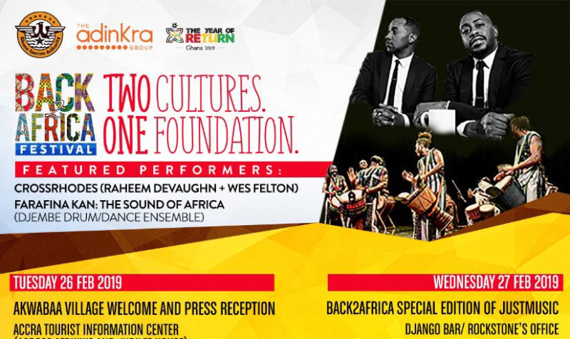 YEAR OF RETURN: The 2019 Back2Africa Festival & Tour, a Birthright Journey to Africa