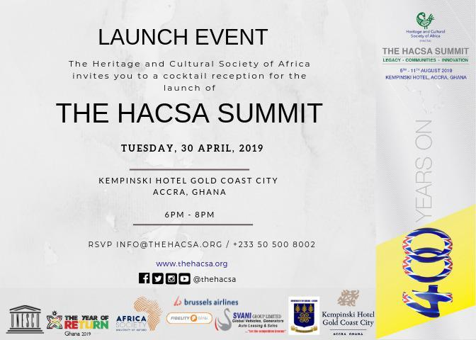 Year of Return: Heritage And Cultural Society of Africa Summit to be launched
