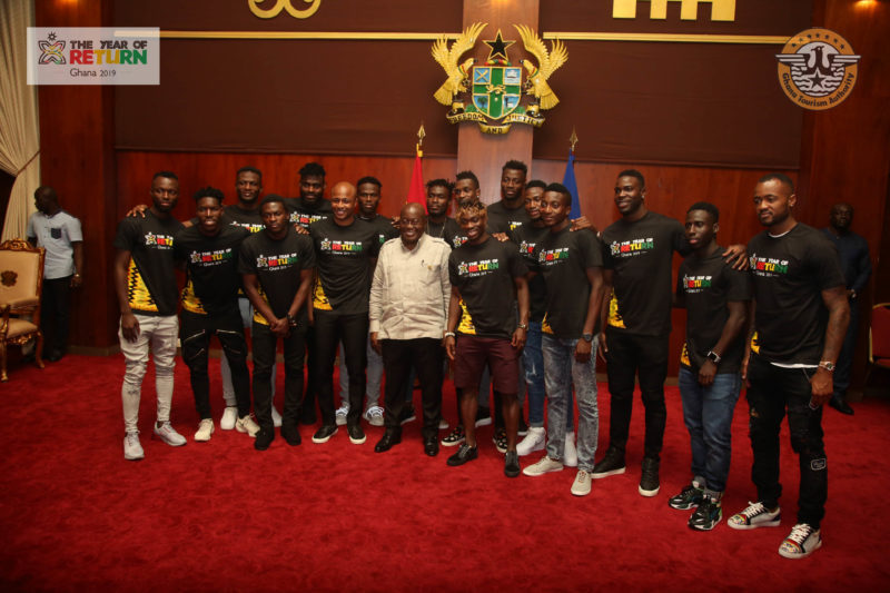 President Akufo-Addo: 'The year of return' for Black Stars AFCON glory