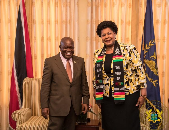 """Visit Ghana In This 'Year Of Return'"" – President Akufo-Addo To Trinidadians"