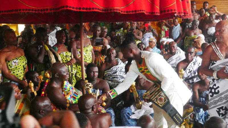 Kofi Kingston Attends one of the Biggest Festivals in the Ashanti Region