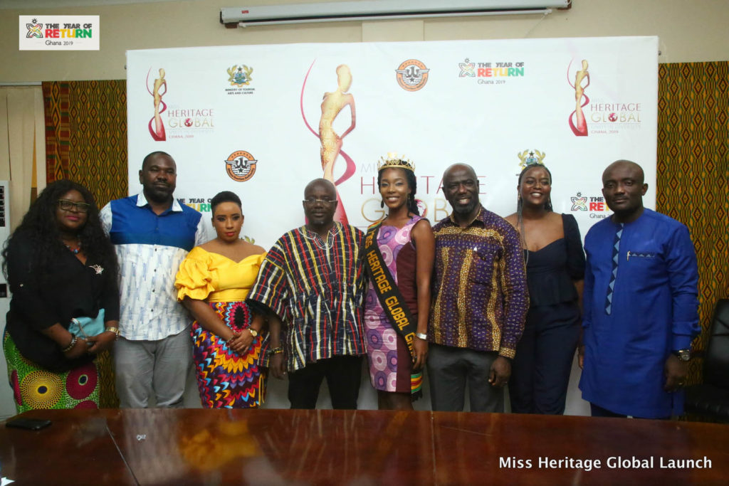 Miss Heritage Global Pageant Officially Launched in Ghana