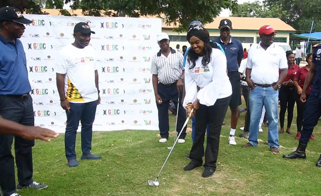 Over 100 Golfers Compete at the Year of Return, Ghana Centre of the World Golf Tournament