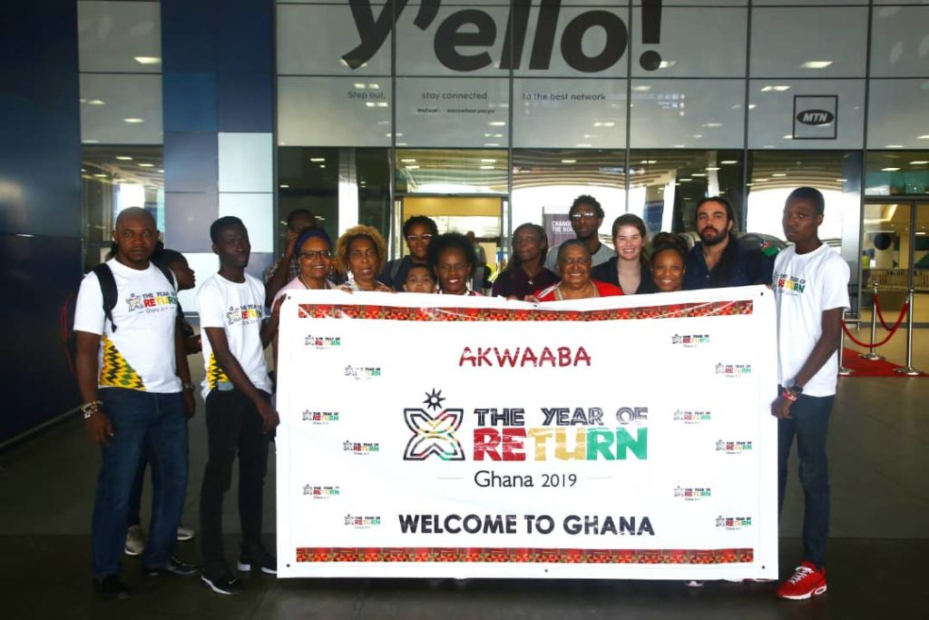 More African Americans Coming to Ghana