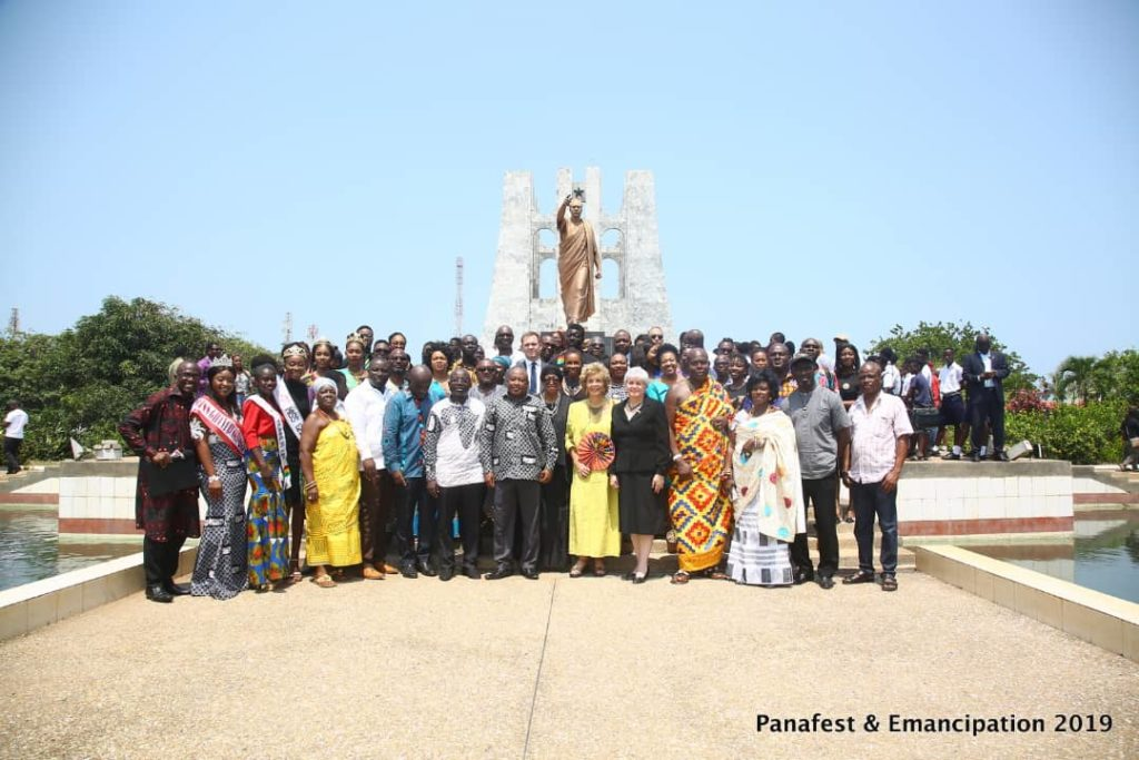 Nkrumah, Padmore and Du Bois, Honoured in PANAFEST Wreath-Laying Ceremony