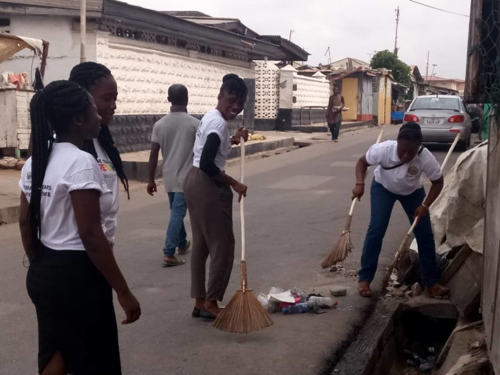 GTA Ladies Club Clean-Up Jamestown in readiness for 'Year of Return' Events