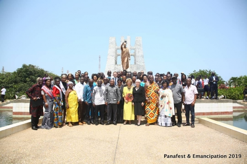 PANAFEST & Emancipation Day 2019 kick off with Wreath-Laying Ceremonies in Accra