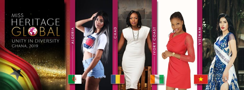 50 global beauty queens arriving in for Ghana for Miss Heritage Global Culture Show