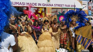 Kumasi Carnival brings Caribbean and Ghanaian Culture together