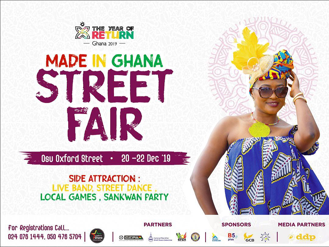 Made in Ghana Street Fair Opens this Weekend!