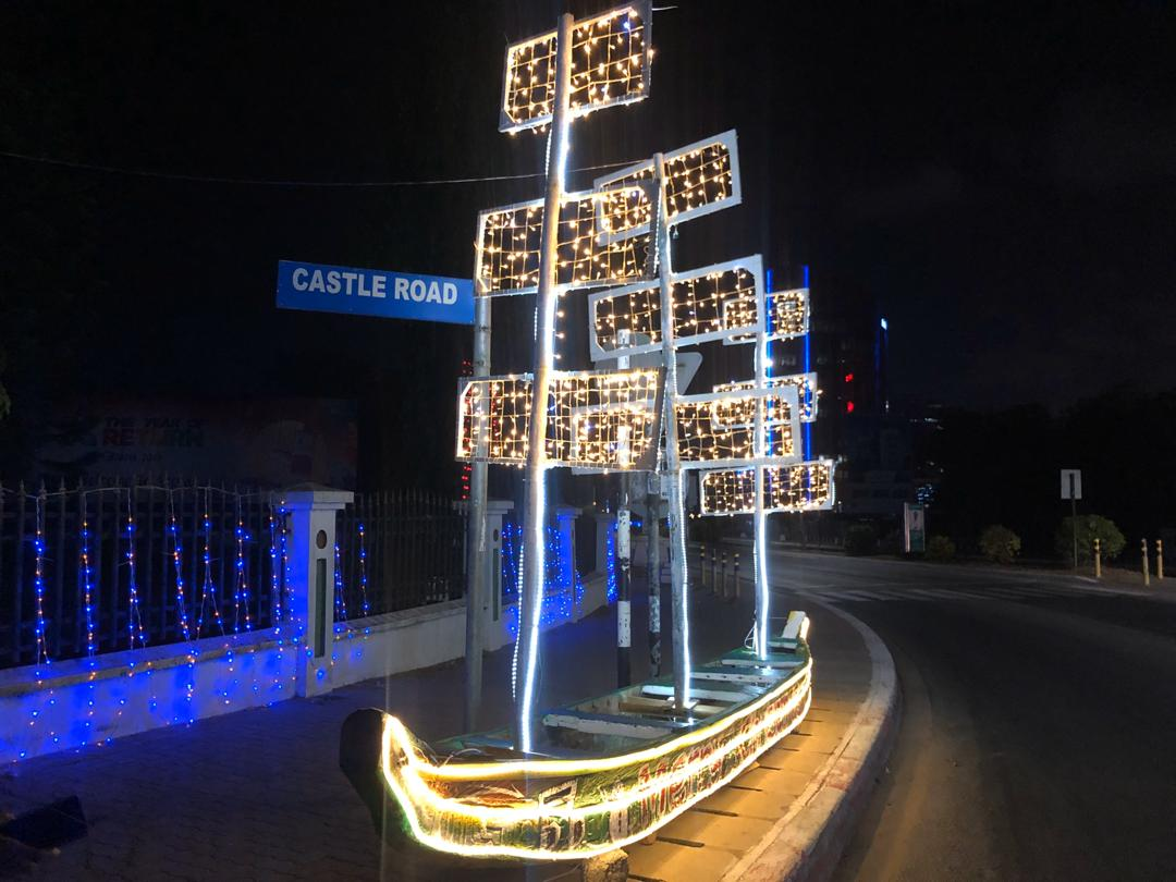 Accra lights-up ahead of #DecemberInGh Christmas